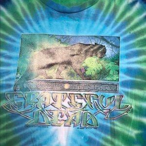 VTG Grateful Dead 1989 Jungle Forest Panther Tee